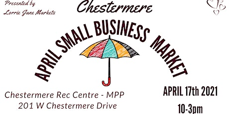 Chestermere 6th annual April Market tickets