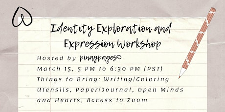 pinaypages Identity Exploration and Expression Workshop tickets