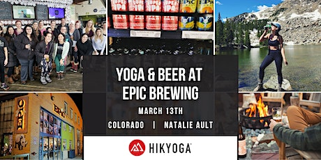 Yoga and Beer at Epic Brewing with Hikyoga Colorado tickets