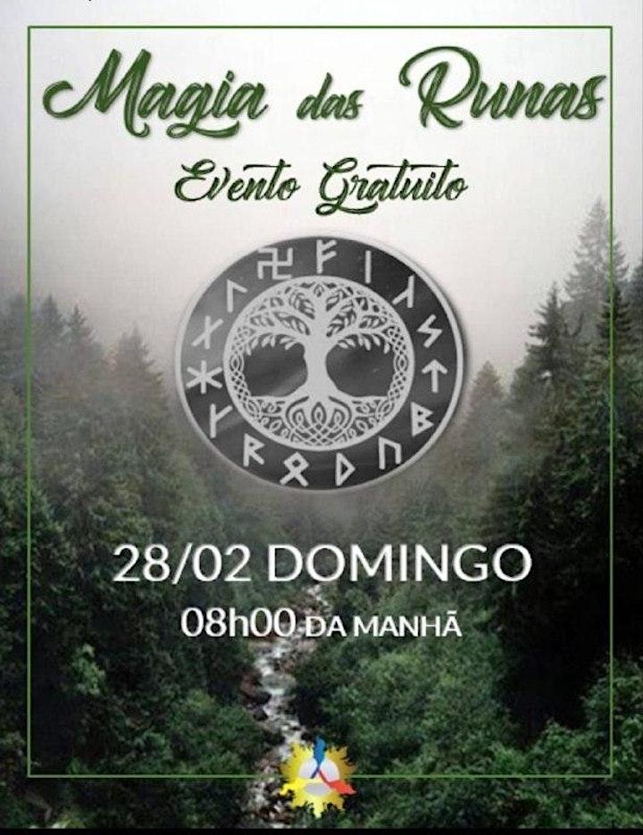 Imagem do evento Curso Magia das Runas Nórdicas (Unidade Santana)