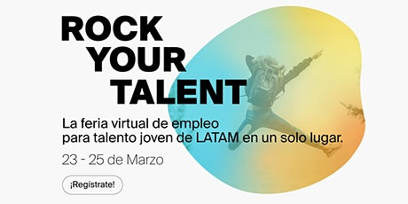 Rock Your Talent - Feria virtual de empleo boletos