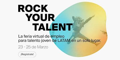 Rock Your Talent - Feria virtual de empleo entradas
