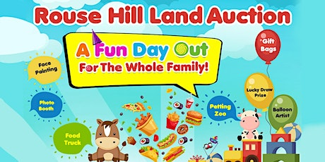 Rouse Hill Land Auction - fun, family night out! tickets