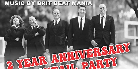 Brit Beat Mania performing for  La Bonne Saigon Anniversary Cocktail Party tickets