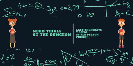 Trivia Night at the Dungeon tickets