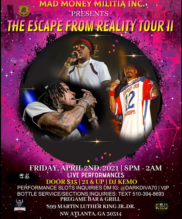 The Escape From Reality Tour II. image