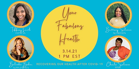 Your Fabulous Health  - Recovering Our Health After Covid 19 tickets
