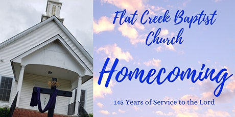 Flat Creek Homecoming - 145 Years tickets