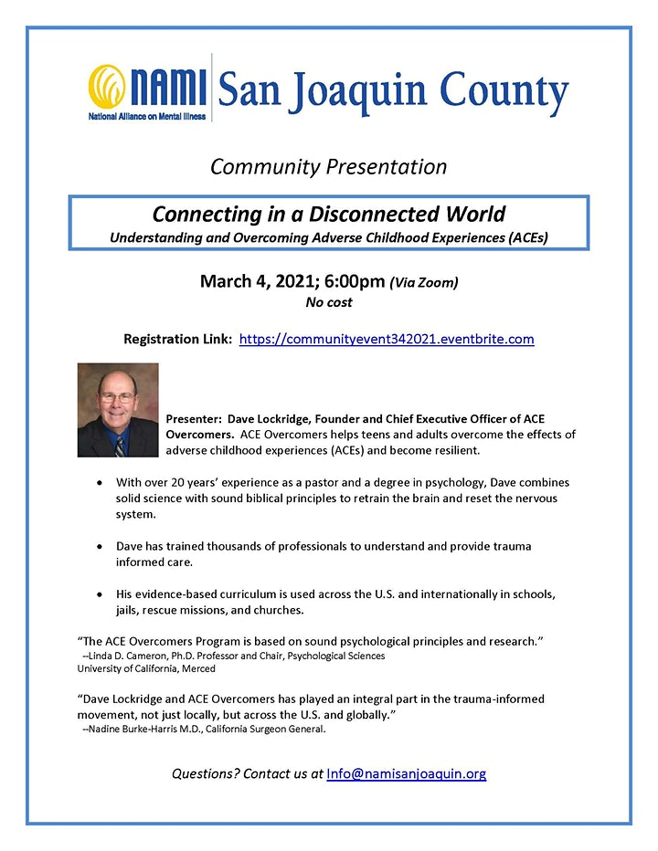 Community Presentation: Connecting in a Disconnected World image