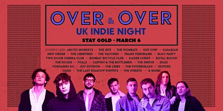 Over & Over - UK  Indie Club Night tickets