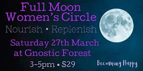 Full Moon in Libra Women's Circle tickets