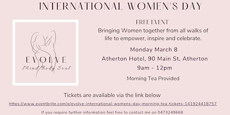 EVOLVE International Women's Day Morning Tea tickets