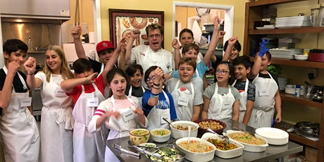 LIVE Kids Cooking Camp  #1-Mon-Thurs-June 21-24, 2021-10am-12:30-West LA tickets