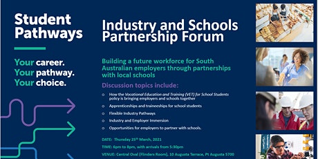 Industry and Schools Partnership Forum tickets