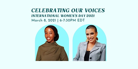 Celebrating Our Voices - IWD 2021 tickets