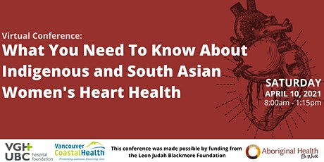 What You Need to Know About Indigenous and South Asian Women's Heart Health tickets