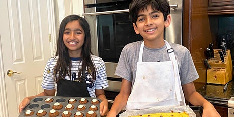 Kids ONLINE Cooking Camp  #3-Mon-Thurs- August 23-26, 2021--2:30pm-4pm-ZOOM tickets