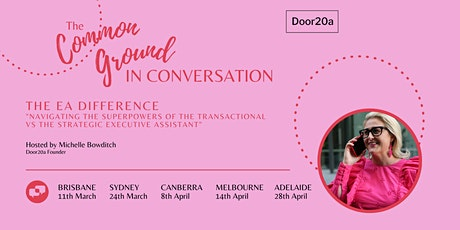 The Common Ground 'In Conversation' Canberra tickets