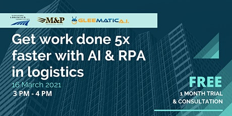 Get Work Done 5x Faster with AI & RPA in Logistics tickets