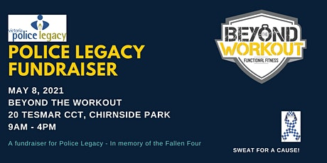 Beyond The Workout Police Legacy Fundraiser tickets