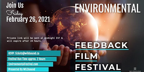 Environmental (FREE) Film Festival | This Friday. Stream all day tickets