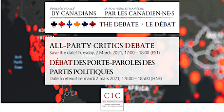 Foreign Policy By Canadians: All-Party Critics Debate tickets
