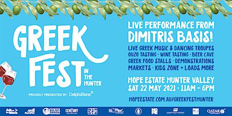 2021 Greek Fest in the Hunter tickets