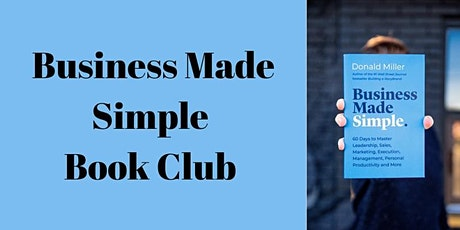 Business Made Simple Book Club tickets