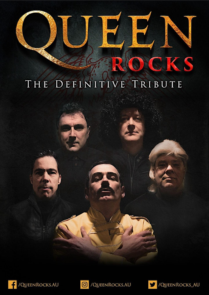QUEEN ROCKS - The Definitive Tribute Show at Merchant Lane, Mornington image