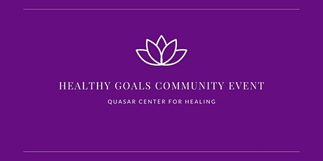 Healthy Goals Community Event tickets