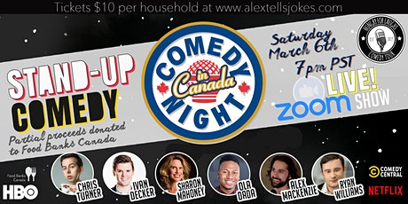 Comedy Night in Canada! tickets