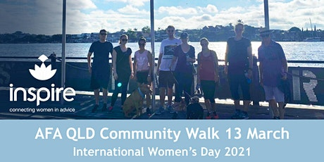 AFA QLD Inspire Event: International Women's Day Community Walk Brisbane tickets