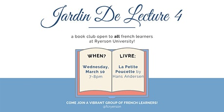 Jardin de Lecture - Book Club billets