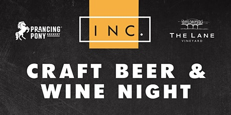 INC Cafe Craft Beer & Wine Night tickets