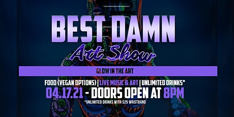 Glow In The Art (Best Damn Art Show 5) tickets