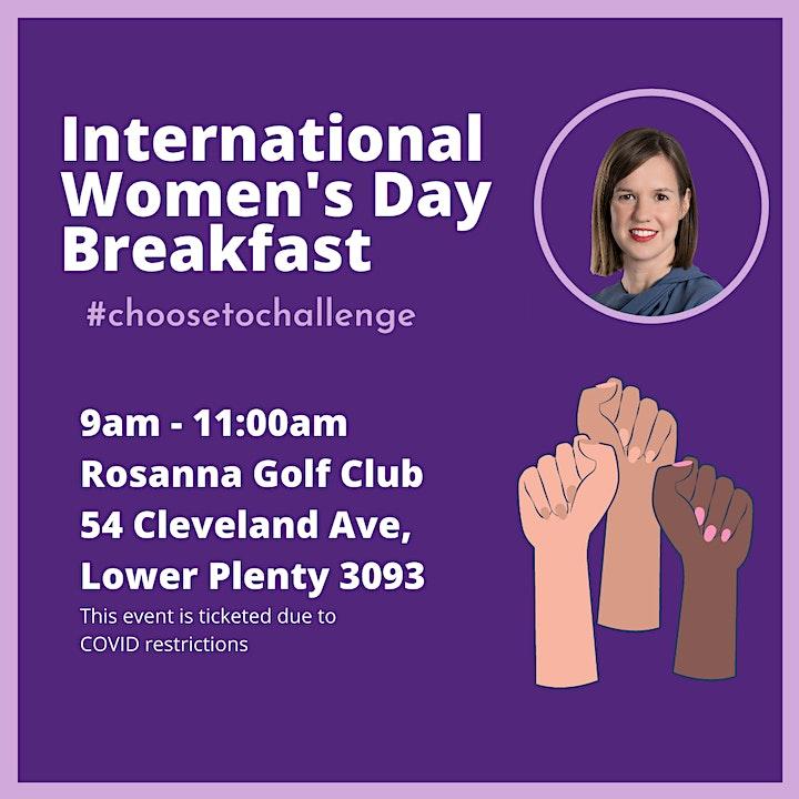 Kate Thwaites' International Women's Day Breakfast image