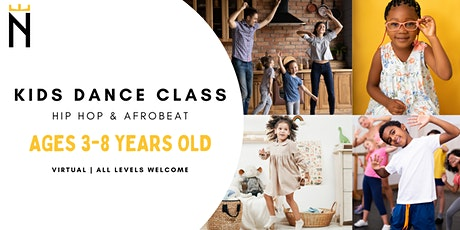 Kids Hip-Hop & Afrobeat Dance Class | Noble Expres tickets