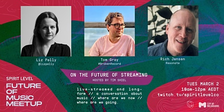 Future of Music #9: The Future of Streaming tickets