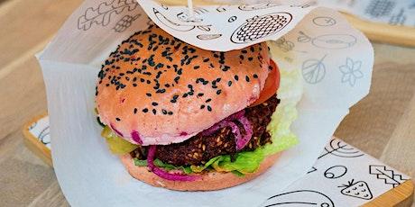 Virtual Class:  Meatless Monday - Quinoa Black Bean Burgers tickets
