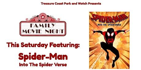 Saturday Drive In Movie Night   Spider-Man Into The Spider Verse tickets
