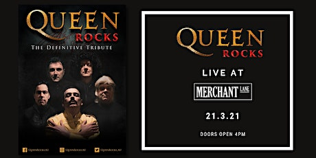QUEEN ROCKS - The Definitive Tribute Show at Merchant Lane, Mornington tickets