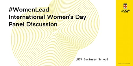 #WomenLead - International Women's Day Panel Discussion tickets