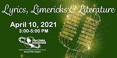 Lyrics, Limericks & Literature tickets