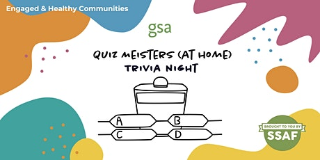 GSA Grad Orientation Trivia Night with Quiz Meisters tickets
