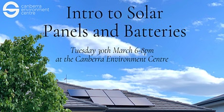 Intro to Solar Panels and Batteries tickets