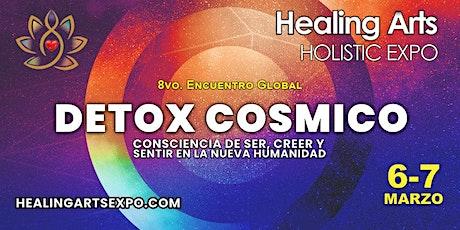 """8vo. Congreso Global Consciente: """"Detox Cósmico 2021"""" por Healing Arts Expo tickets"""