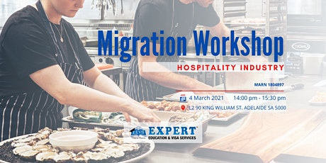 Migration Workshop: The Hospitality Industry tickets