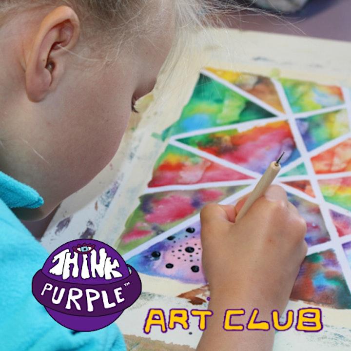 SATURDAY MORNING KIDS ART CLUB kids 6 to 11 image