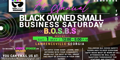 Black Owned Small Business Sat ATL May 1, 2021 tickets