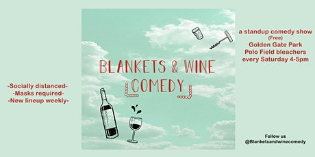 Blankets & Wine Comedy tickets